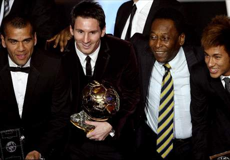 Messi é maior que Pelé?