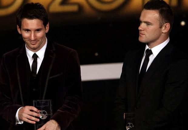 Wayne Rooney: Lionel Messi Di Atas Cristiano Ronaldo