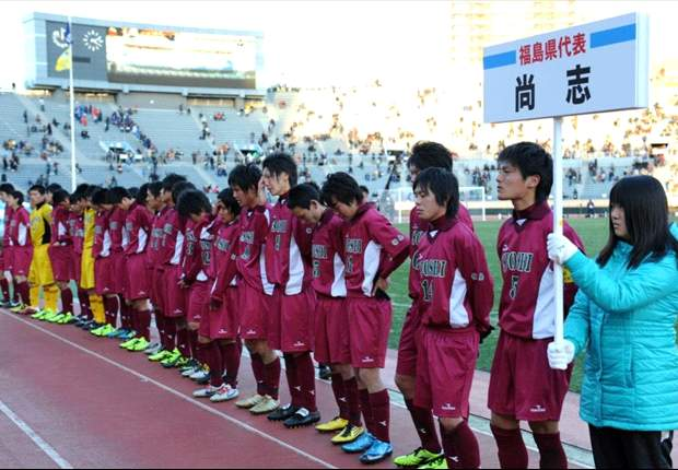 Training 60 kilometres away from a nuclear meltdown, high school footballers inspire Japan