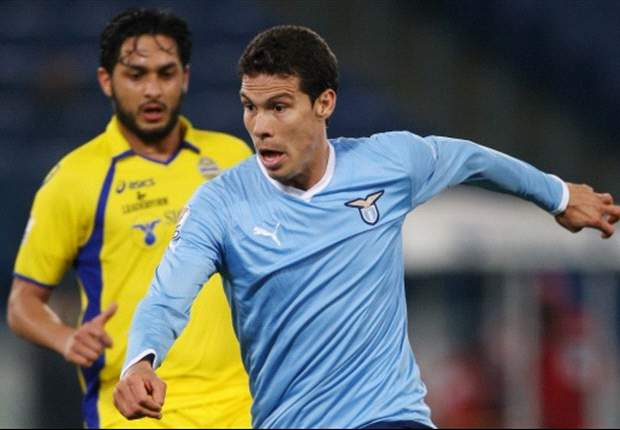 Lazio 3-2 Hellas Verona: Last-gasp Hernanes free kick edges Edy Reja's side into last eight and denies valiant visitors