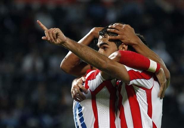 Liga, 21ª giornata - L'Atletico di Simeone va come un treno! Real a +7 sul Barca, Valencia bloccato, Malaga al quinto posto