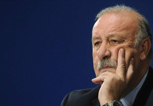 Del Bosque not worried about potential Barcelona v Real Madrid Champions League final