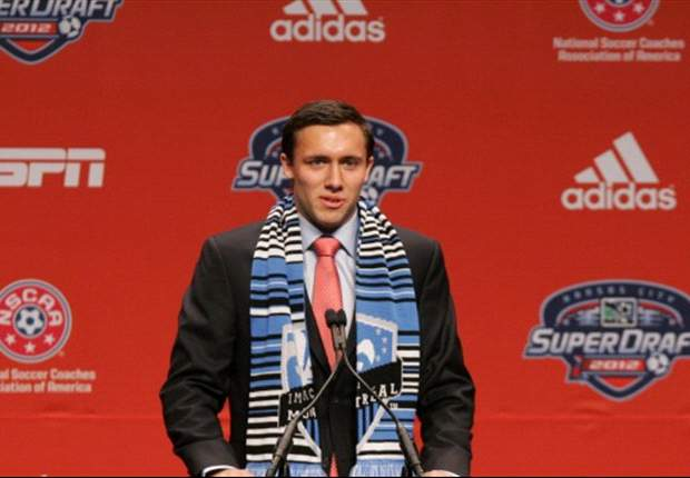 Montreal Impact select Andrew Wenger with first overall pick of 2012 MLS SuperDraft