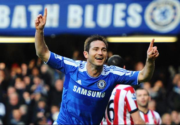 Chelsea 1-0 Sunderland: Early Frank Lampard strike proves decisive as Michael Essien makes welcome return from injury