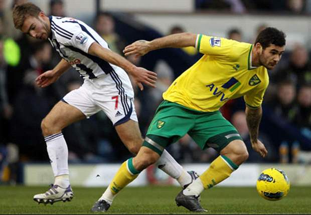 West Bromwich Albion 1-2 Norwich City: Andrew Surman and Steve Morison goals consign Baggies to third straight defeat