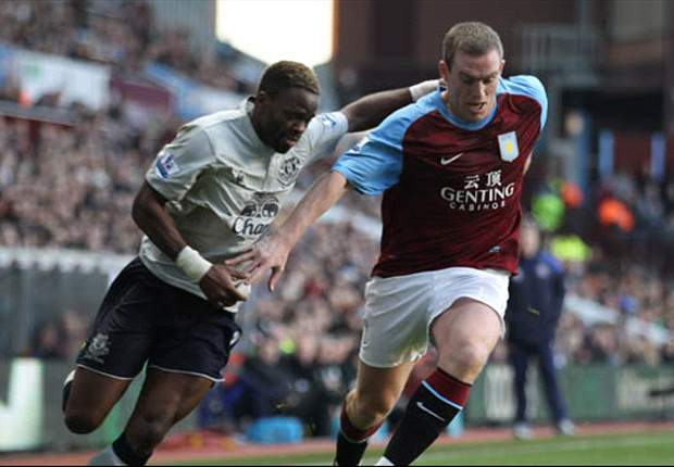 Aston Villa 1-1 Everton: Darren Bent opener cancelled out by Victor Anichebe strike for David Moyes' men