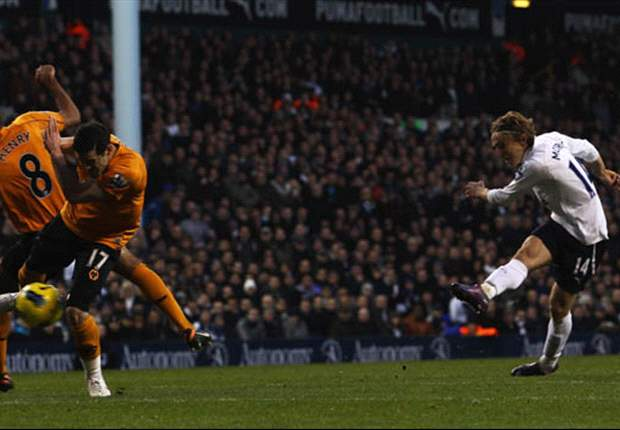 Mancini admits Manchester City admiration for Tottenham's Modric
