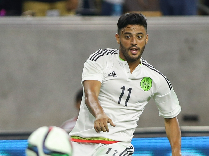 TEAM NEWS: Vela, Chicharito and Peralta lead the line for Mexico