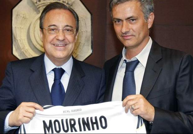 Real Madrid president Florentino Perez suggests Jose Mourinho can one day return