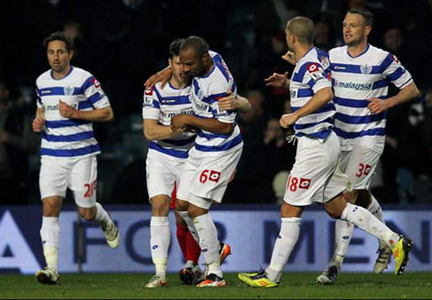 QPR 1-0 MK Dons: Danny Gabbidon heads home winner to down spirited League One outfit