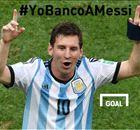 Todos se suman al #YoBancoAMessi