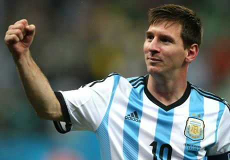 Messi nets 50th Argentina goal