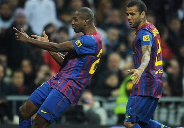 Dani Alves angered by Barcelona's treatment of Abidal