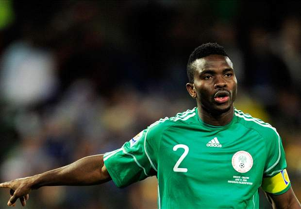 Nigeria skipper Joseph Yobo has injury scare