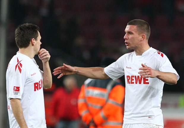 Unsere Legionäre: Lukas Podolski trifft auf Sascha Riether