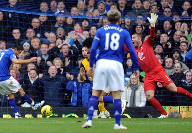 Everton 1-1 Blackburn Rovers: Bizarre David Goodwillie equaliser denies hosts after Tim Cahill opener
