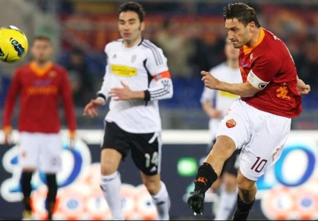 Nessuno ha mai fatto così tanti goal con la stessa maglia: Totti è a quota 211, superato Nordahl per l'ennesimo record