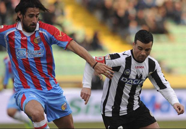 Catania - Udinese Preview: Guidolin's men seek a point in Sicily to secure third place