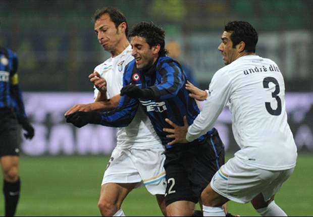 Inter siegt gegen Lazio - Milito und Pazzini treffen