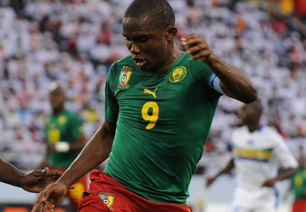 Cameroon release Afcon 2013 qualifying list with Samuel Eto'o