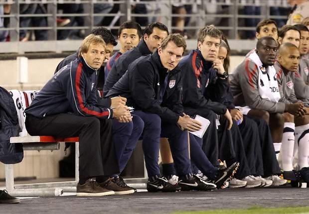U.S. national team coach Jurgen Klinsmann takes a patient approach in integrating young players