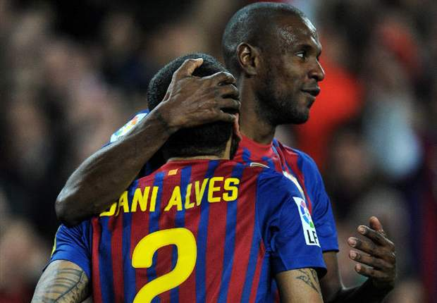 Abidal: Dani Alves offered me his liver