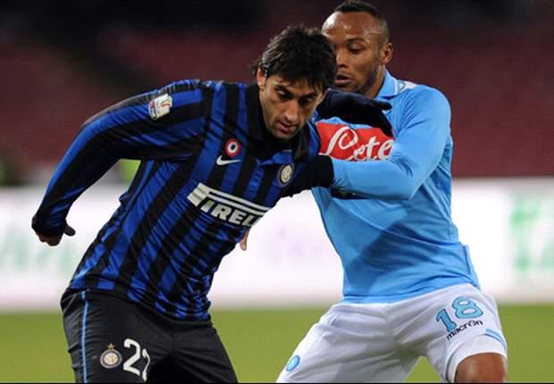 Inter-Nápoles, la lucha de los perseguidores de la Juventus