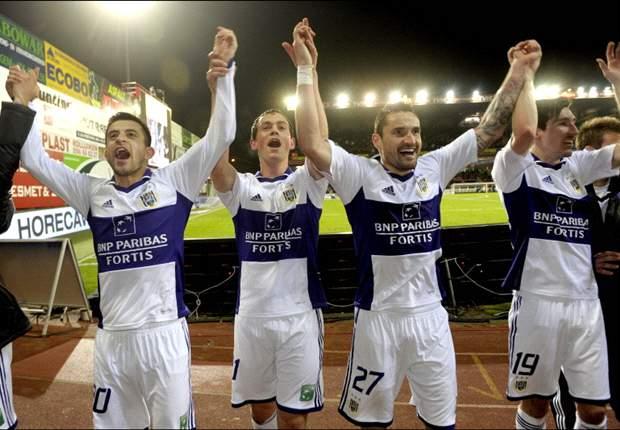 BELGIË - Titel Anderlecht kwestie van tijd