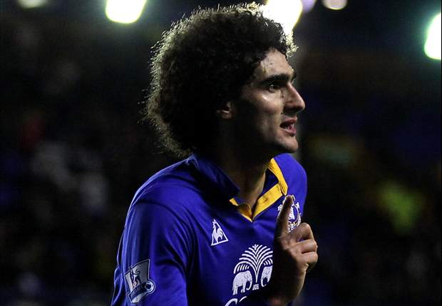 Everton 2-1 Fulham: Denis Stracqualursi and Marouane Fellaini on target to complete Toffees turnaround