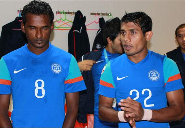 Climax Lawrence (left) fears the worst for the Indian national team