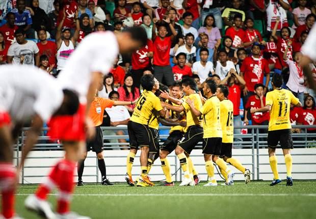 LionsXII 0-1 Terengganu: Francis Forkey Doe strike seals victory