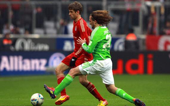 164769hp2 Wolfsburg v Bayern Munich: Watch a Live Stream of the Bundesliga   available in the UK