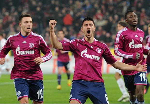 Koln 1-4 Schalke: Marica fires brace as Huub Stevens' side keep pace with Bayern Munich and Borussia Dortmund at the top of the Bundesliga