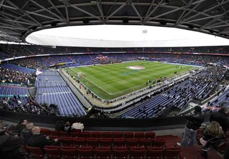 Roma met 2.400 fans naar Rotterdam
