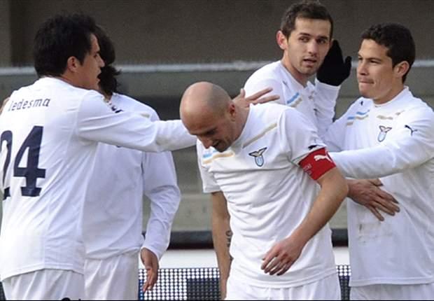 Chievo 0-3 Lazio: Hernanes and clinical Klose double give Edy Reja's side impressive away triumph