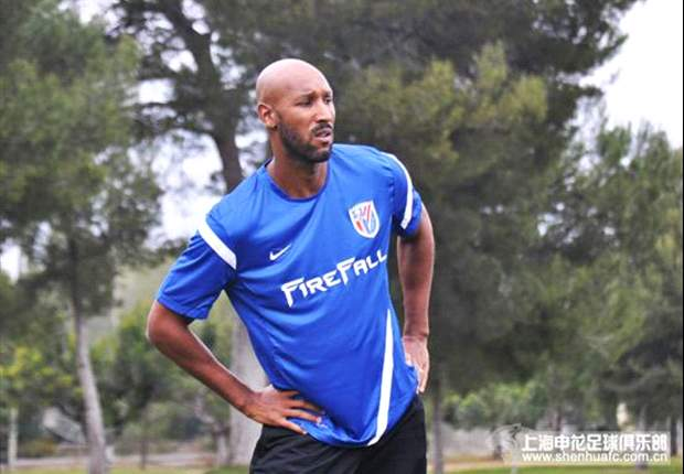 Anelka in spat with Shanghai Shenhua fan