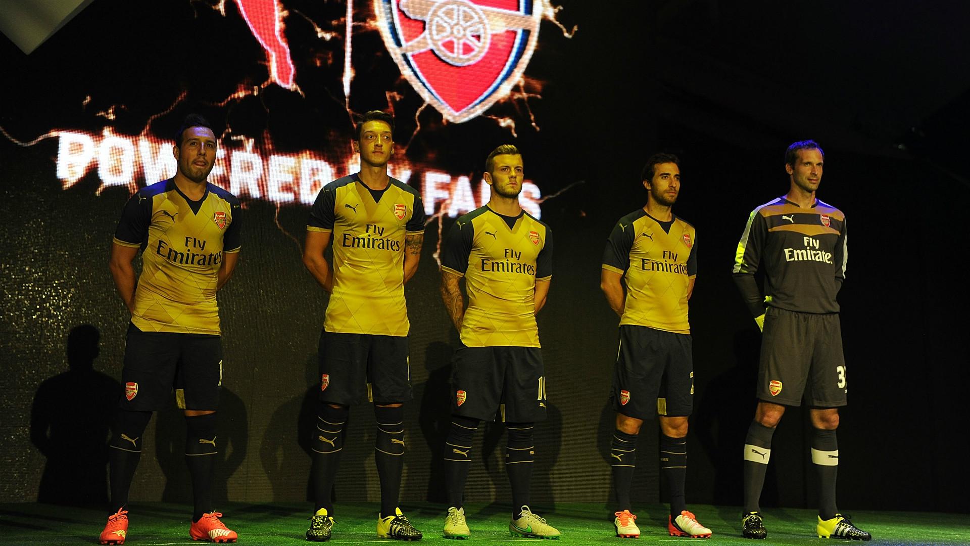 Maillot Extérieur Arsenal Mesut Özil