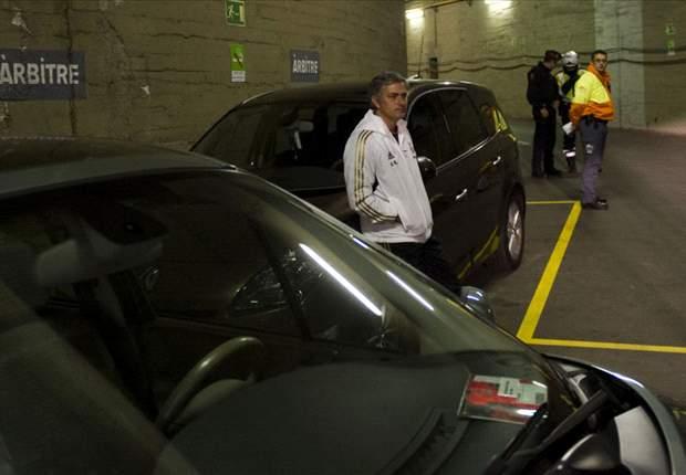 Se cumple un año de la foto de Jose Mourinho en el párking del Camp Nou