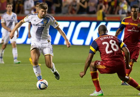 Gerrard in competitive LA Galaxy bow
