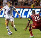 Gerrard in competitive LA Galaxy bow