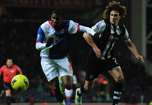 Blackburn 0-2 Newcastle: Dann own goal and late Obertan strike move Magpies into fifth