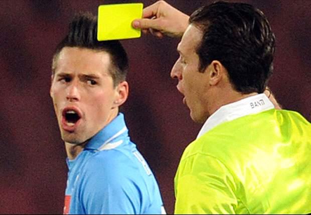 Ahia, cattiva notizia per Mazzarri! Tutto come copione: Hamsik squalificato per un turno, niente Inter per lo slovacco