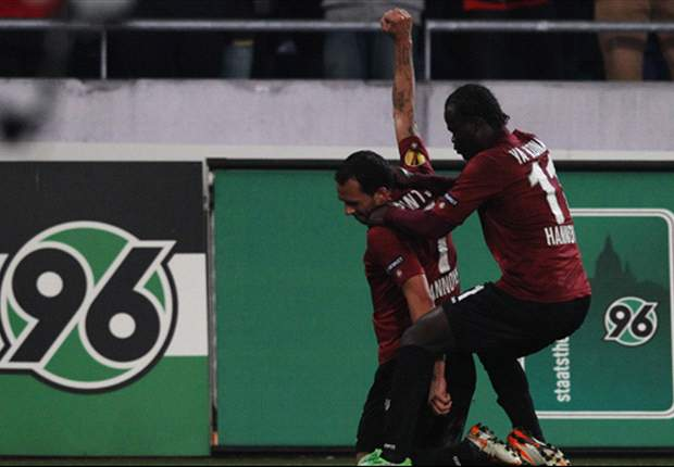 Hannover 4-0 Standard Liege (Agg 6-2): Confident performance from Bundesliga side books berth in quarter-finals