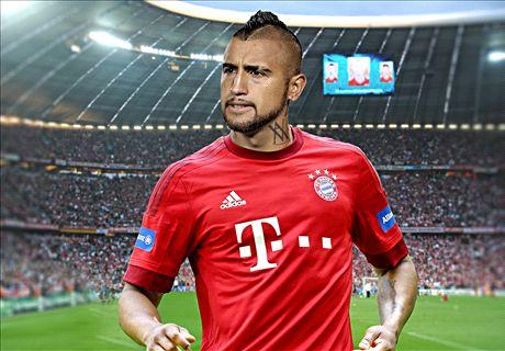 OFFICIAL: Vidal signs Bayern deal
