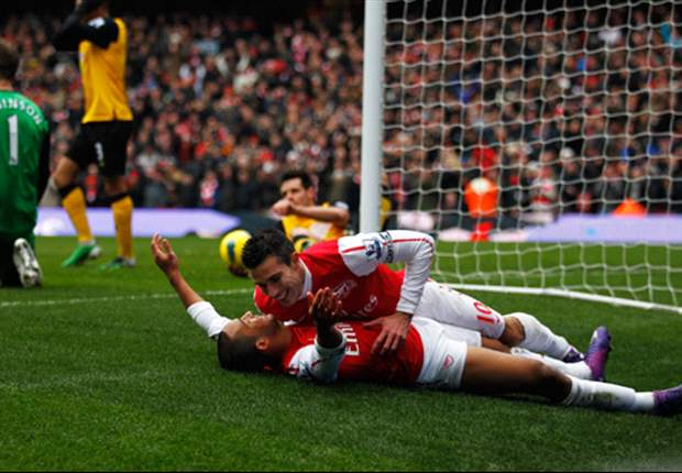 Arsenal 7-1 Blackburn: Robin van Persie & Alex Oxlade-Chamberlain run riot as Gunners hit seven in ruthless victory