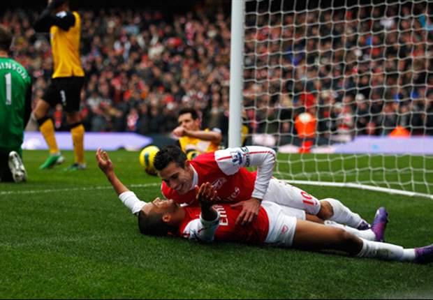 Van Persie zet Arsenal in de wachtkamer