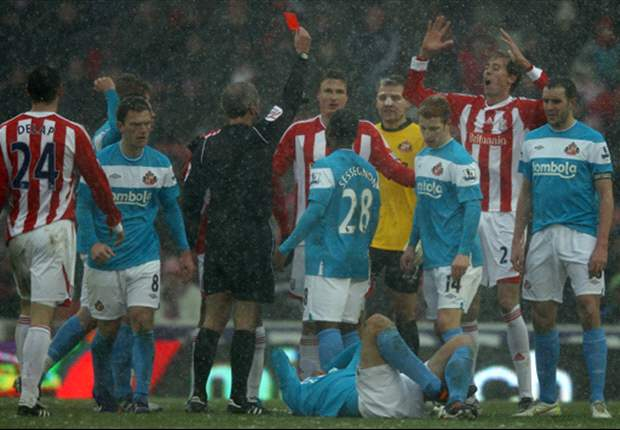 Stoke City's Robert Huth loses appeal over red card issued against Sunderland