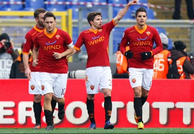 Roma goleia a Inter no Calcio