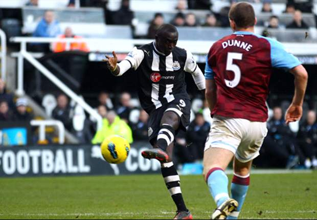 On cloud nine: New goalscoring hero Papiss Cisse has Newcastle dreaming of the Champions League