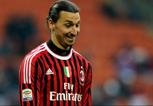 AC Milan's Zlatan Ibrahimovic accepts responsibility for red card